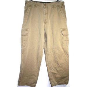 Old Navy Mens 38x30 Cargo Khakis Pants 8 pockets